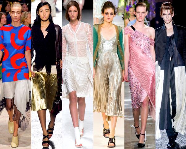 MODA Y  ACCESORIOS  PERFECTOS  A  LA ÚLTIMA  Infinitos-plisados-top-10-tendencias-paris-fashion-week-primavera-verano2014-godustyle