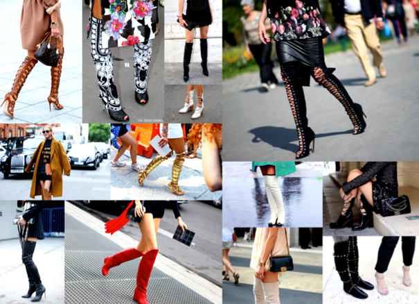 """THIGH HIGH BOOT"", LAS BOTAS DE CAÑA ALTA QUE TODAS CALZAN - SHOPPING TENDENCIAS"