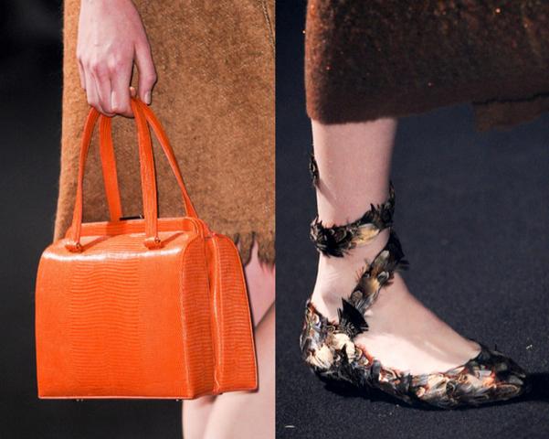 top bolsos y zapatos fw 2014 15 milan fashion week