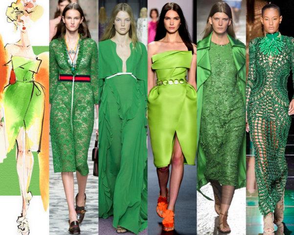 Green Flash Colores Moda Verano 2016