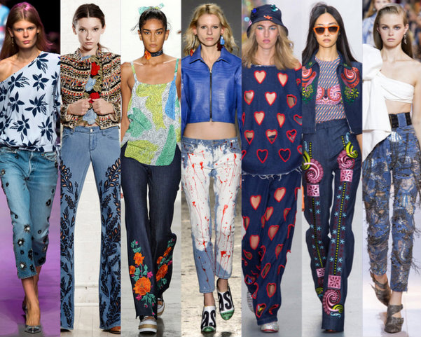 Tendencias DENIM Verano 2016