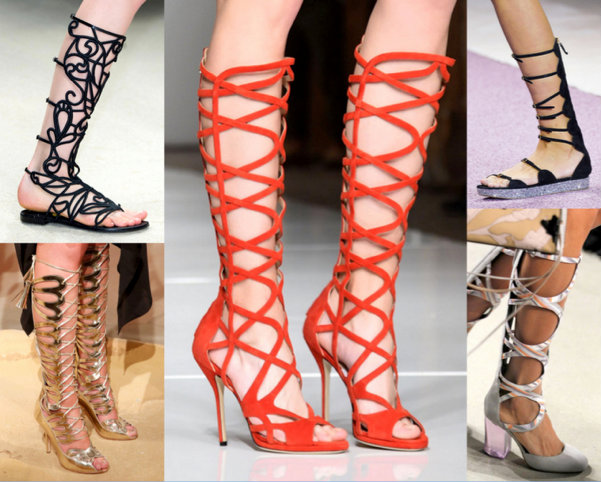 Gladiator Sandals Primavera-Verano 2016
