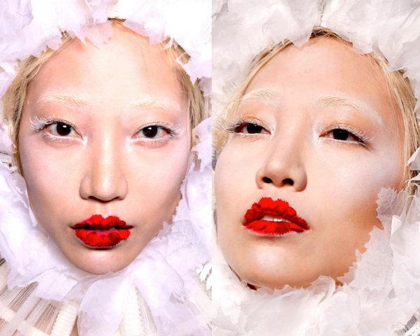 Jean-Paul-Gaultier-Top-Beauty-Look5-Couture-Otono-2016 ...