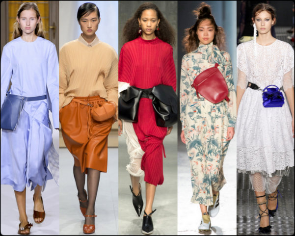bolsos, bolsos cinturón, bags, bags on belt, tendencias primavera-verano 2017, tendencias, tendencias milan fashion week, milan fashion week, trends spring 2017, trends milan fashion week, trends,