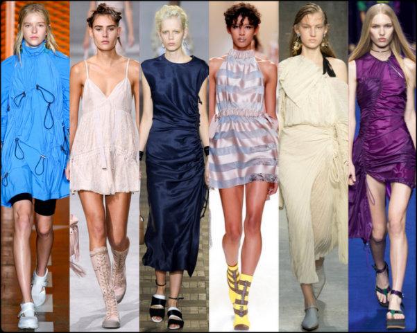 cordones, ruching, tendencias primavera-verano 2017, tendencias, tendencias milan fashion week, milan fashion week, trends spring 2017, trends milan fashion week, trends