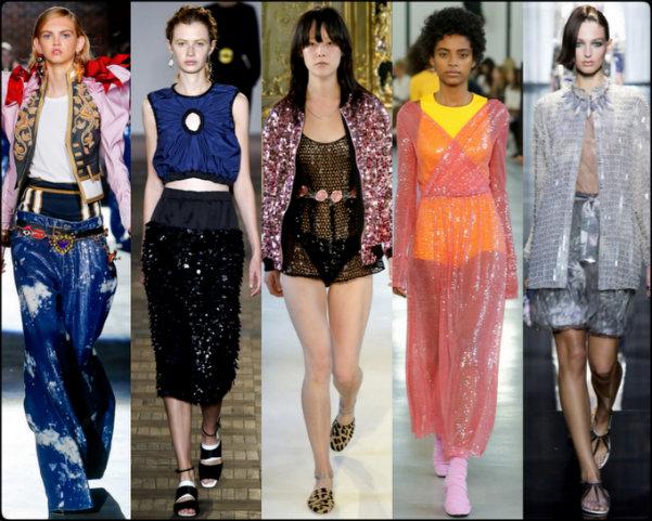 lentejuelas, sequins, tendencias primavera-verano 2017, tendencias, tendencias milan fashion week, milan fashion week, trends spring 2017, trends milan fashion week, trends