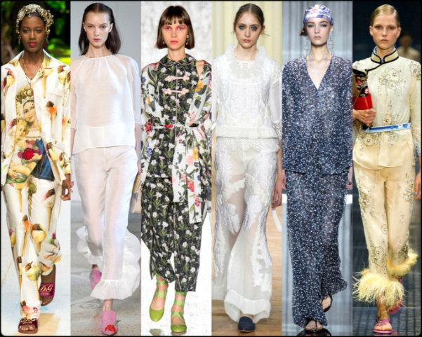pajama, pijama, tendencias primavera-verano 2017, tendencias, tendencias milan fashion week, milan fashion week, trends spring 2017, trends milan fashion week, trends