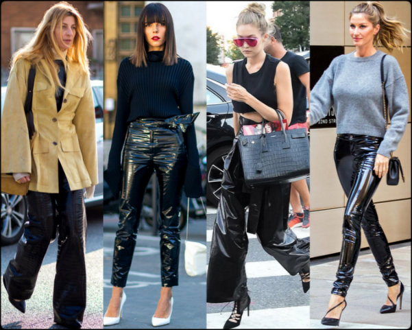 streetstyle, diseñadores, fashion weeks, charol, vinyl, isabel marant, isabel marant fall 2016, isabel marant otoño 2016, tendencias, trends, charol trend